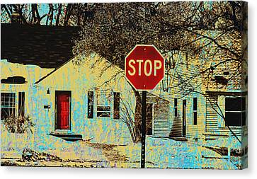 Home In The Midwest Canvas Print