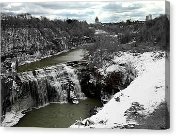 Middle Falls Rochester Ny Canvas Print