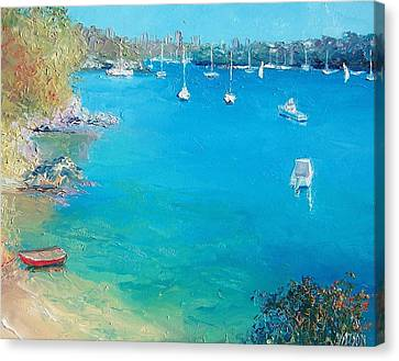 Middle Harbour Sydney Canvas Print by Jan Matson