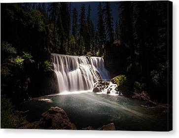 Middle Mccloud Falls Canvas Print