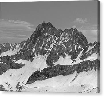 406429-e-middle Palisade Bw Canvas Print