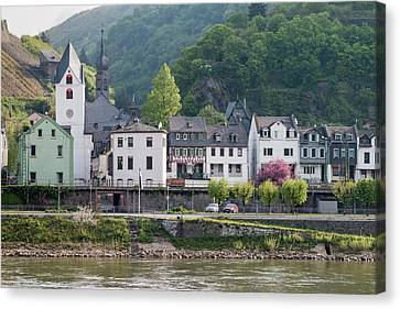 Middle Rhine Is A Unesco World Heritage Canvas Print