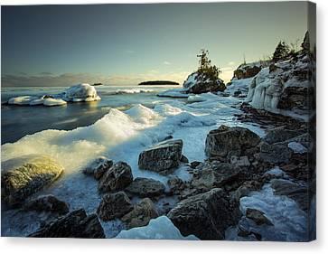 Middlebrun Bay Sunset II Canvas Print by Jakub Sisak