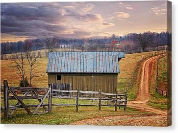Middleburg Virginia Countryside Canvas Print