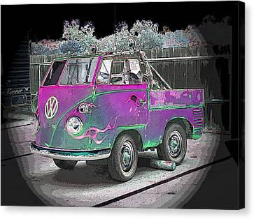 Midget Volkswagon Canvas Print by Dan Townsend