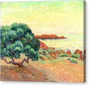 Midi Canvas Print - Midi Landscape by Jean Baptiste Armand Guillaumin