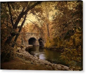 Midland Bridge Canvas Print