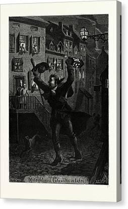 Midnight And Cornwallis Is Taken Canvas Print