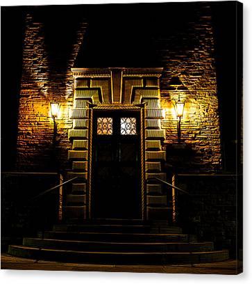 Midnight Entryway Canvas Print by Rhys Arithson