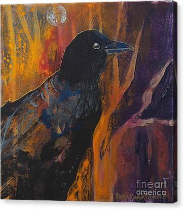 Midnight Flight Canvas Print by Robin Maria Pedrero