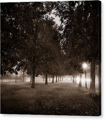 Midnight In The Garden Of Good And Evil Canvas Print by Chris Bordeleau