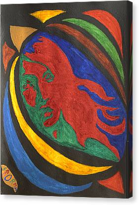 Lady Midnight  Canvas Print by Stormm Bradshaw