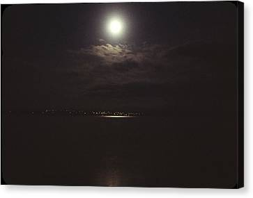 Midnight Moon Canvas Print by George Cousins