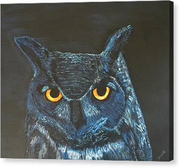 Midnight Owl Canvas Print