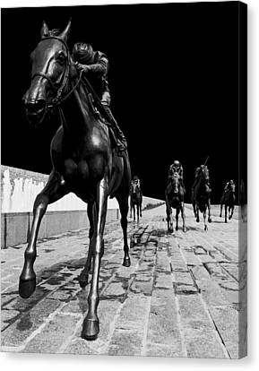 Midnight Ride Canvas Print by Wendell Thompson