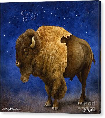 Midnight Thunder... Canvas Print by Will Bullas