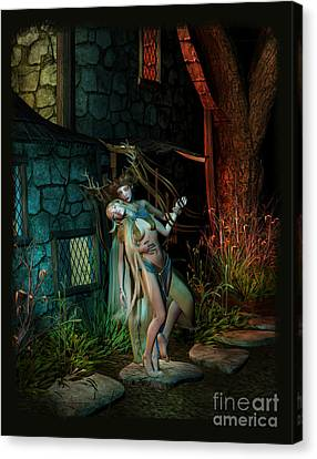Midnight Visitor Canvas Print
