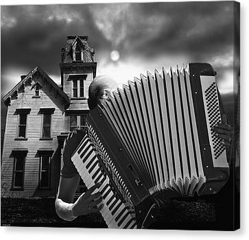 Zydeco Blues Canvas Print by Larry Butterworth