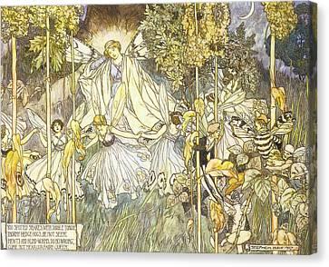 Midsummer's Night Dream Canvas Print by Stephene Reid