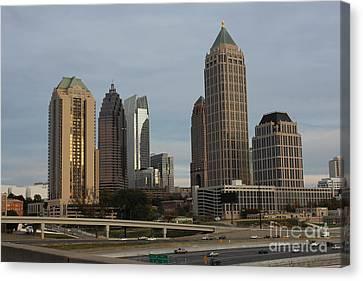 Scad Canvas Print - Midtown Atlanta by Reid Callaway