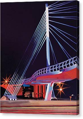 Midtown Greenway Sabo Bridge Canvas Print by Jude Labuszewski