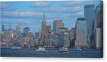 Midtown Manhattan Canvas Print by Dan Sproul