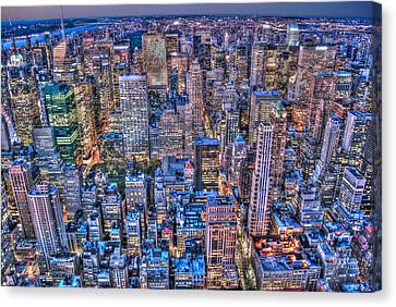 Midtown Manhattan Skyline Canvas Print by Randy Aveille