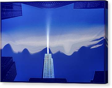Midtown Scape Canvas Print by Kellice Swaggerty