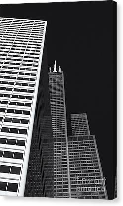 Midwest Monolith Canvas Print by Dan Hefle