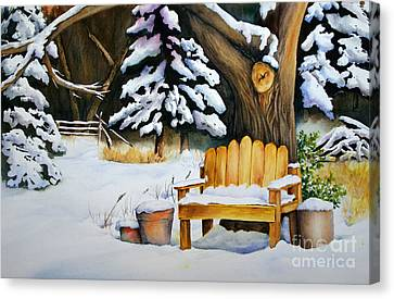 Midwest Winter Canvas Print