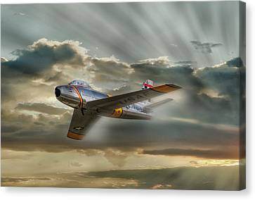 Mig Hunter Canvas Print