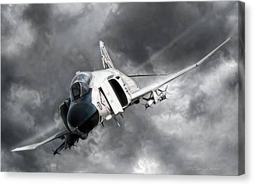 Mig Killer 2 Canvas Print by Peter Chilelli
