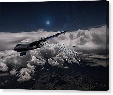 Mig Killer Diamond Lil Canvas Print by Peter Chilelli