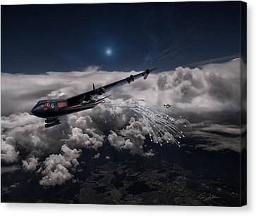 Mig Killer Diamond Lil V2 Canvas Print by Peter Chilelli