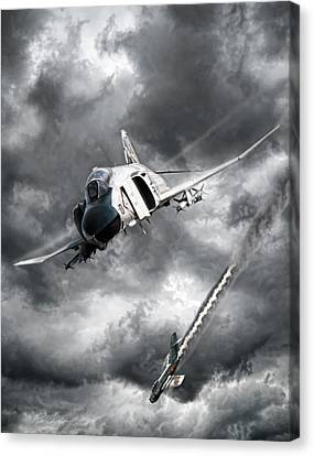 Mig Killer Canvas Print by Peter Chilelli