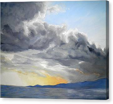 Mighty Clouds Canvas Print