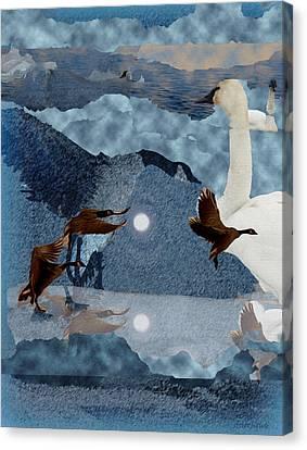 Migrations Canvas Print