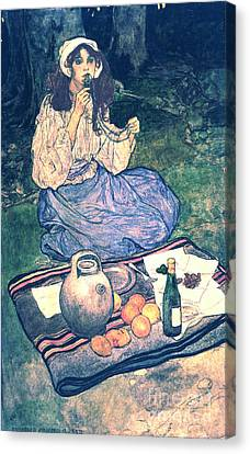 Miguela 1906 Canvas Print by Padre Art