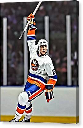 Mike Bossy Canvas Print