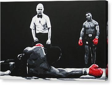 Mike Tyson 3 Canvas Print