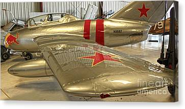 Mikoya-gurevich Fagot Mig-15 Canvas Print by Gregory Dyer