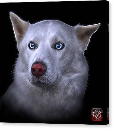 Mila - Siberian Husky - 2103 - Bb Canvas Print by James Ahn