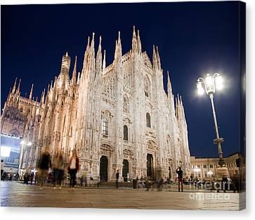 Milan Cathedral Duomo Italy Canvas Print by Michal Bednarek