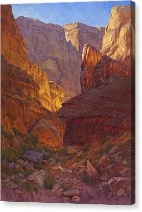 Arizona Western Art Canvas Print - Mile 202 Canyon by Cody DeLong