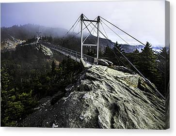 Mile High Bridge-grandfather Mountain Canvas Print