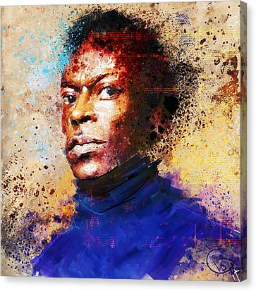Miles Ahead Canvas Print