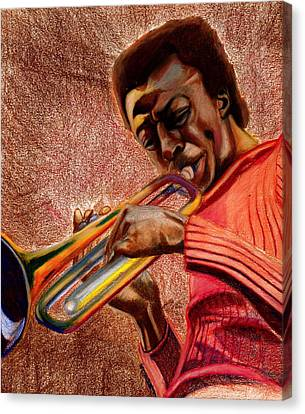 Miles In Color 3 Canvas Print by Dallas Roquemore