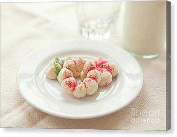 Milk And Cookies Canvas Print by Kay Pickens