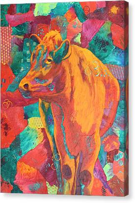 Milk Delivery Canvas Print by Nancy Jolley