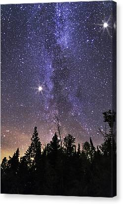 Milky Way Canvas Print - Milky by Nebojsa Novakovic